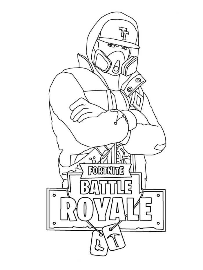 Free Printable Fortnite Coloring Pages For Kids - Free - Coloring Home