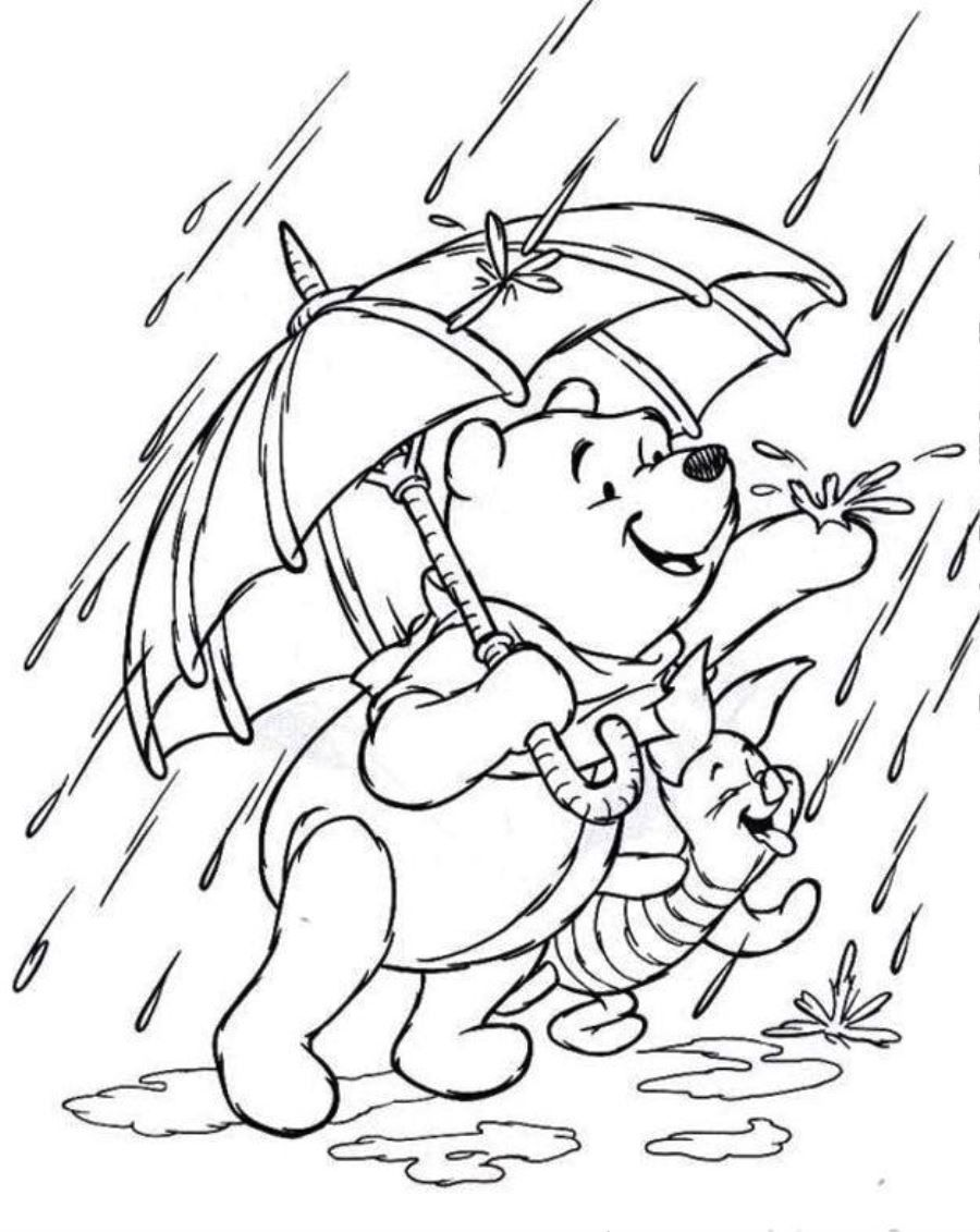 Rain Coloring Rain Coloring Rainforest Coloring Pages To Print Coloring Home