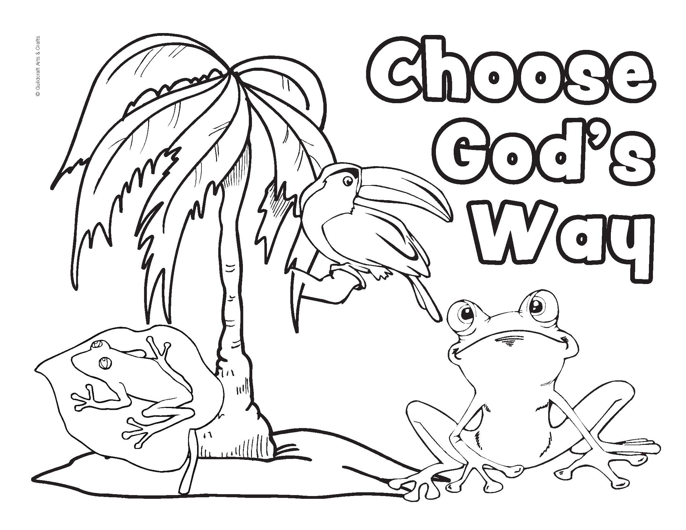 Coloring Pages Tropical