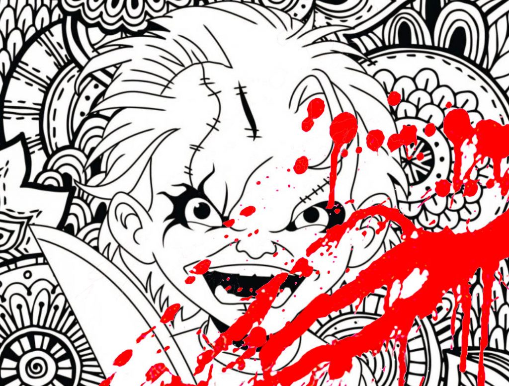 New Classic Horror Movie Coloring pages ! - Coloring Pages for Adults