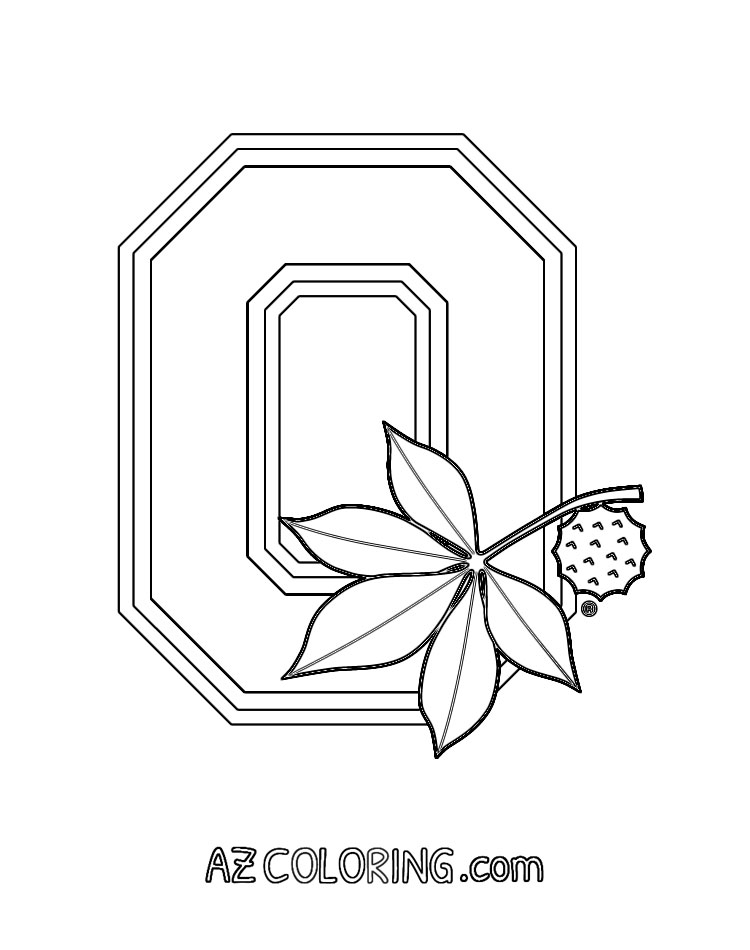 ohio coloring pages - photo#17
