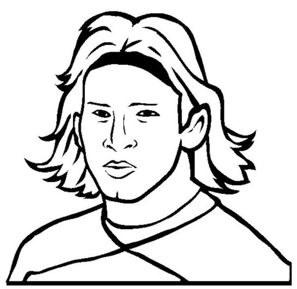 Soccer Coloring Pages Messi - Boys Coloring Pages, Football ...