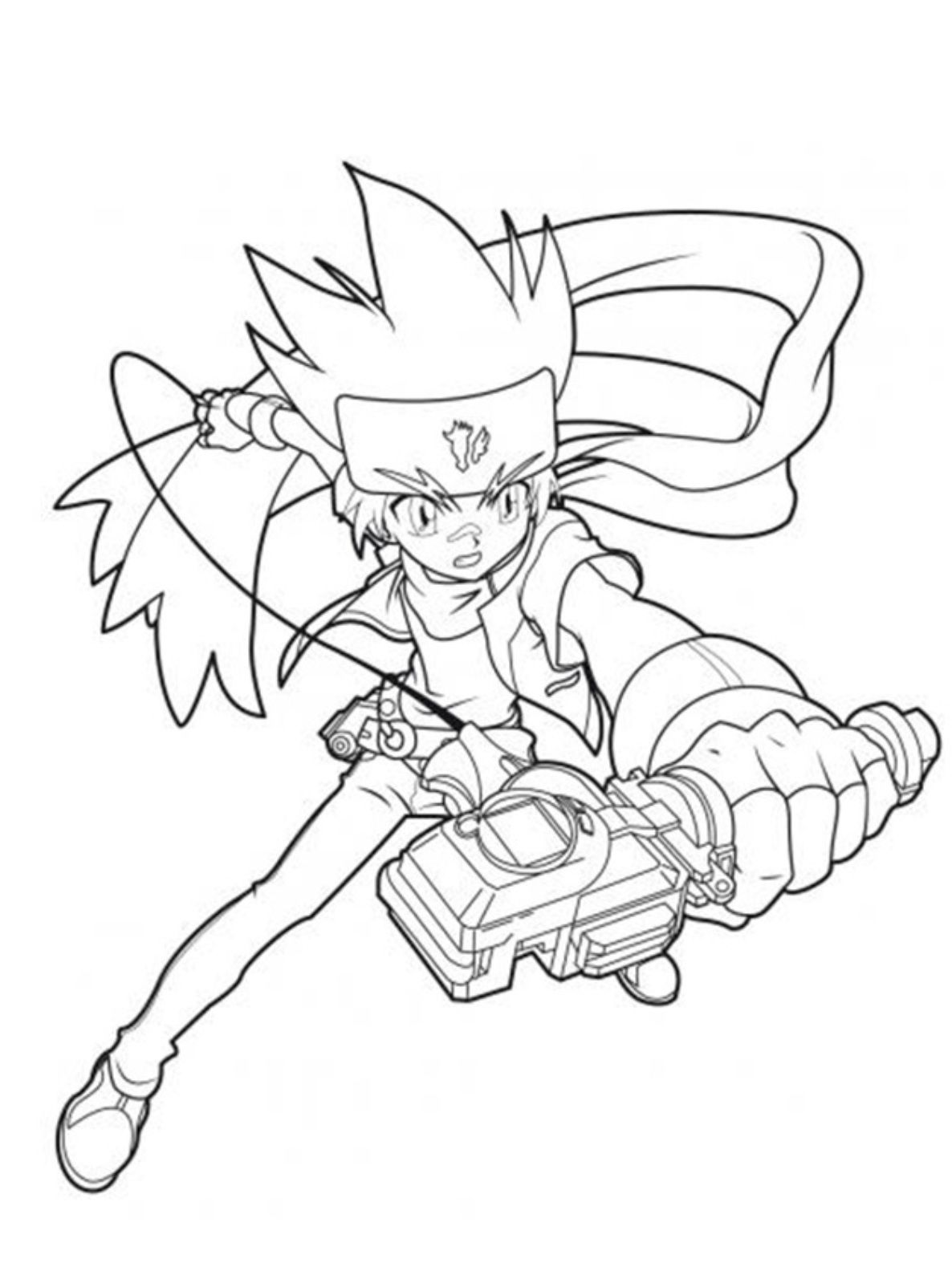 ginga beyblade coloring pages - photo#19