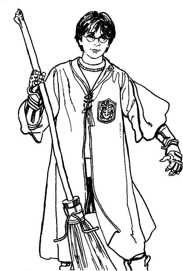 Coloring pages, Harry potter and Coloring