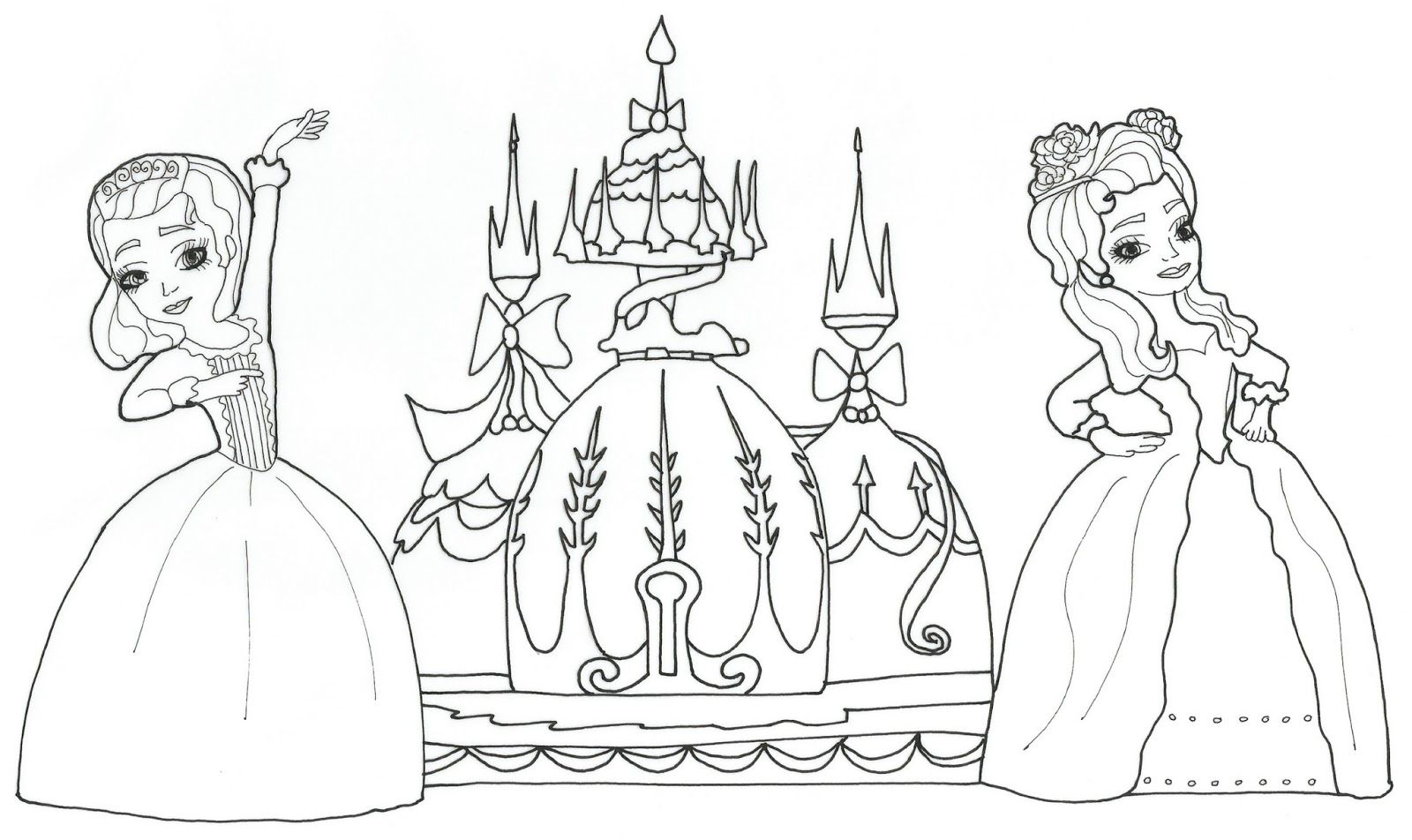 Sofia Coloring Pages Pdf : Sofia the first coloring pages home