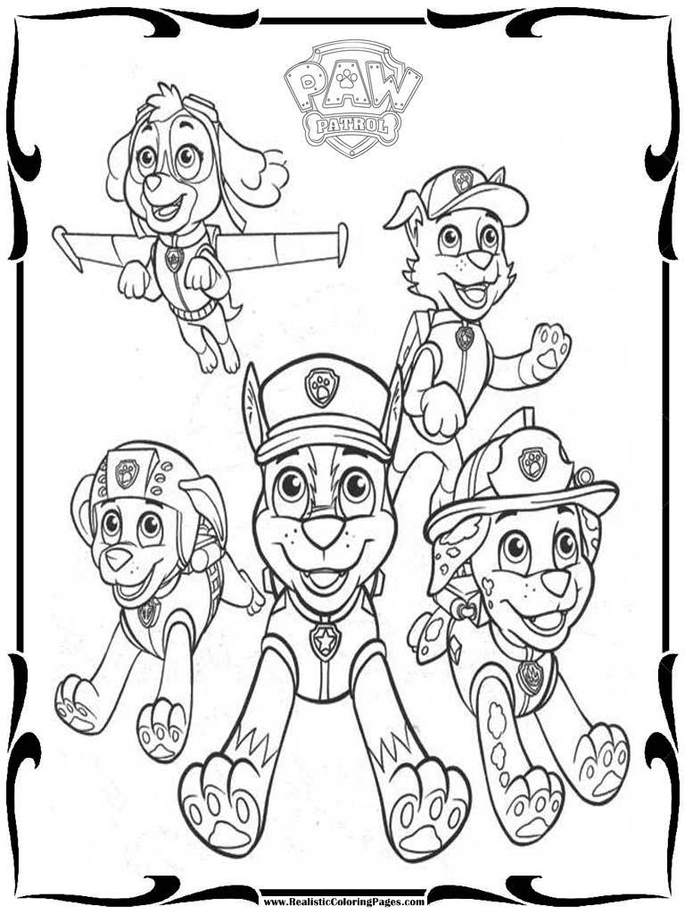 merpups coloring pages - photo#3