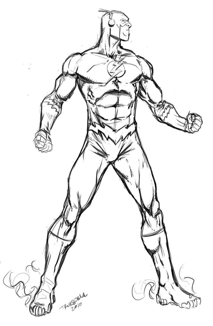 dc heroes coloring pages - the flash superhero coloring pages coloring home