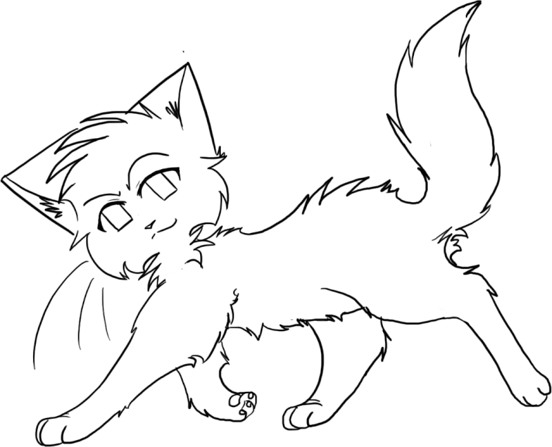 Warrior Cat Coloring Pages To Print - Coloring Home