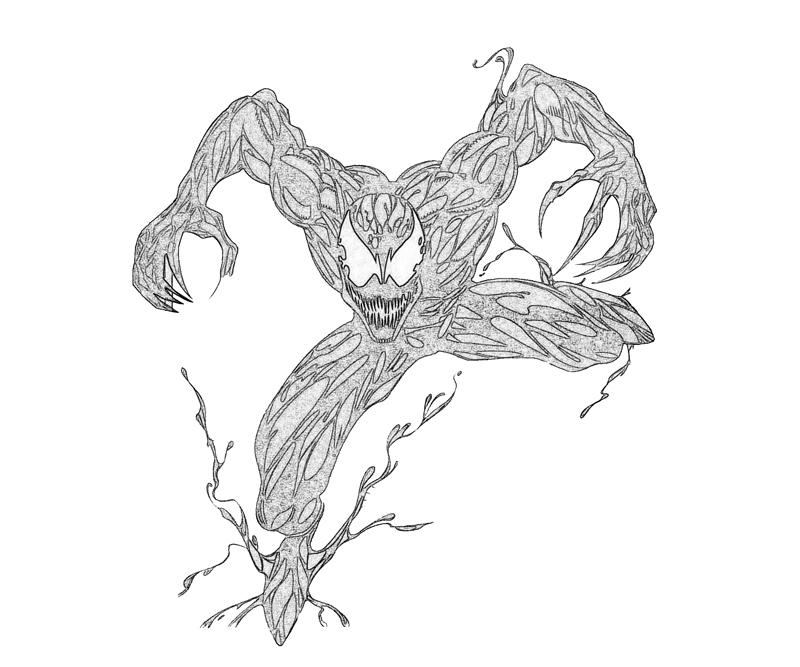 Free Carnage Coloring Pages Coloring