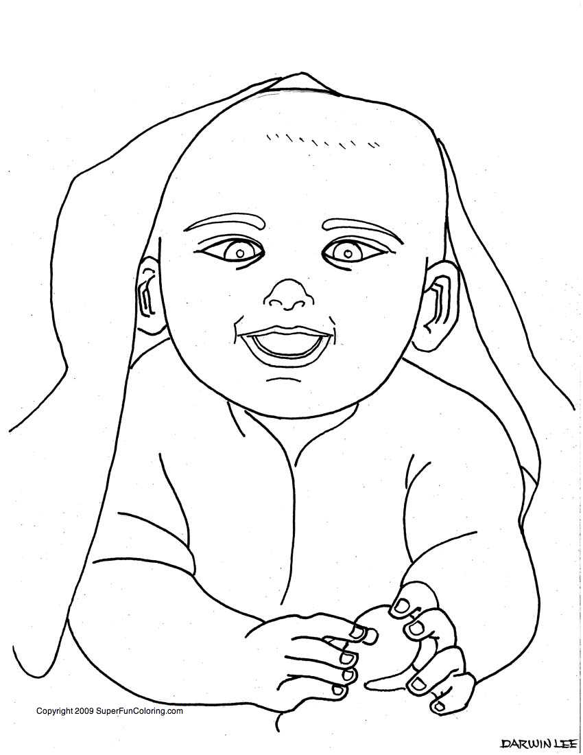 Coloring sheets of babies - Baby Related Detailed Coloring Sheets Baby Coloring Pages