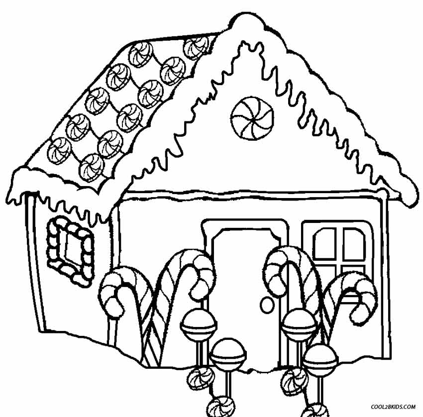 household coloring pages - photo#46