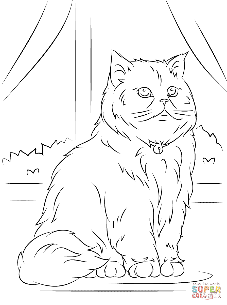 Persain Coloring Pages