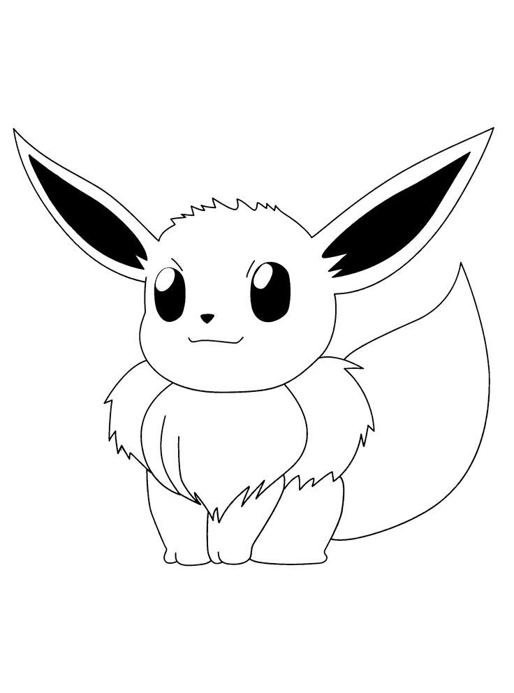 Pokemon Flareon Coloring Pages AZ Coloring Pages