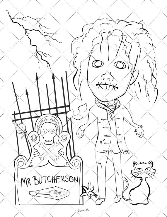 Hocus Pocus Coloring Pages Coloring Home