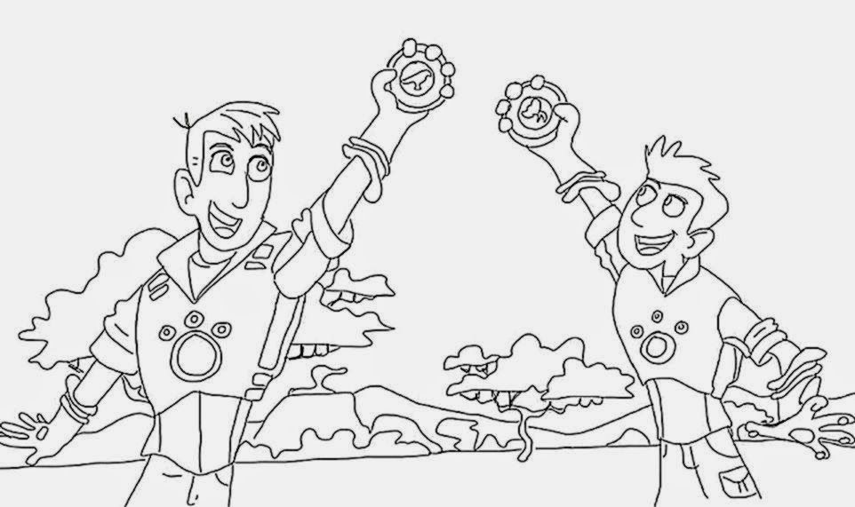 Wild Kratts Coloring Pages For
