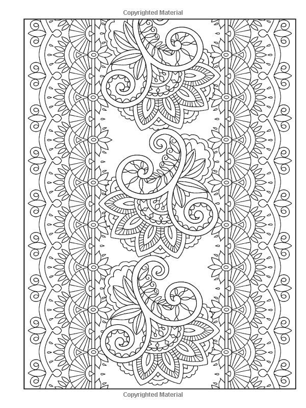 Mehndi Designs Coloring Book : Free mehndi coloring pages home