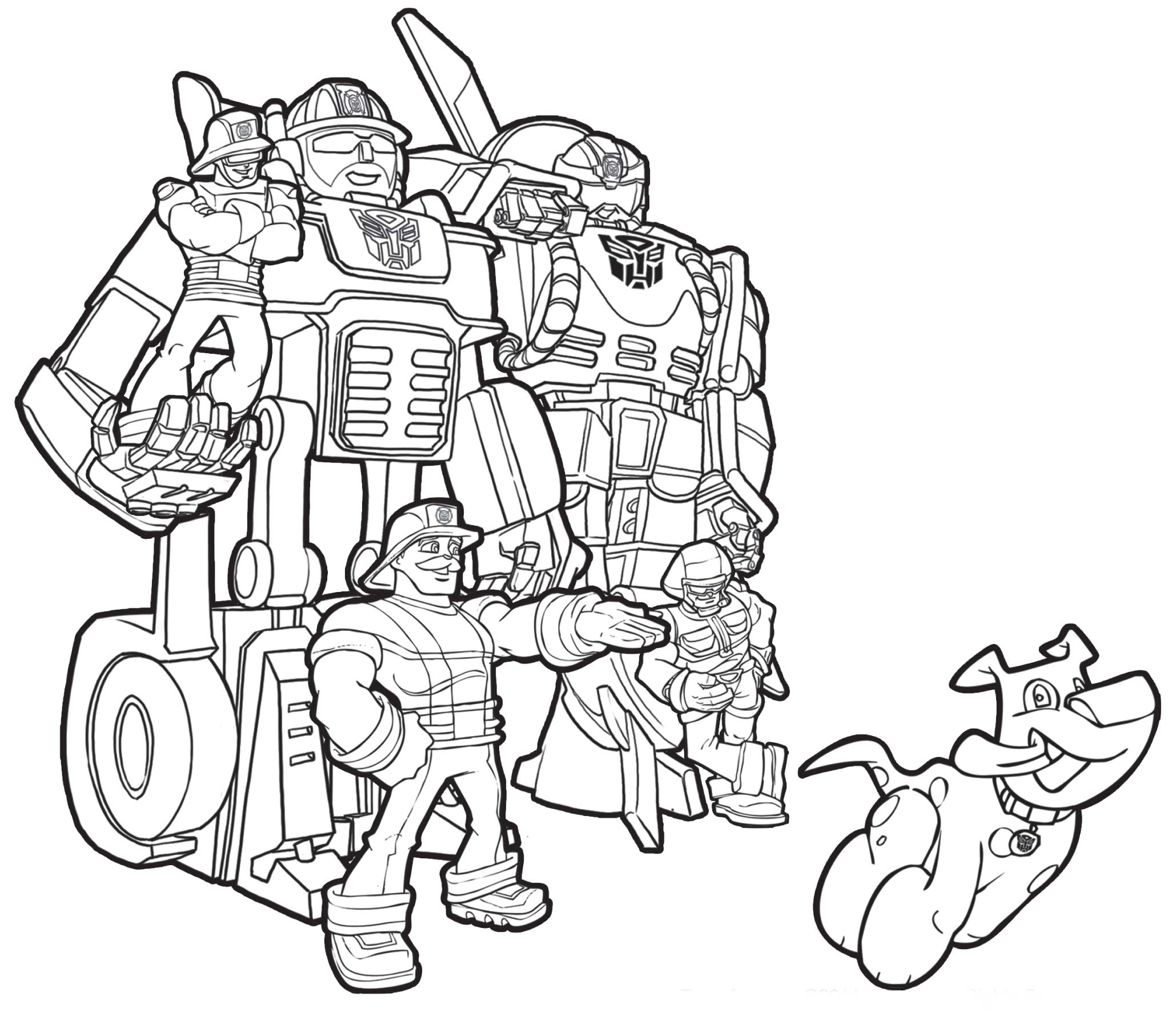 transformers rescue bots colouring book periodic tables