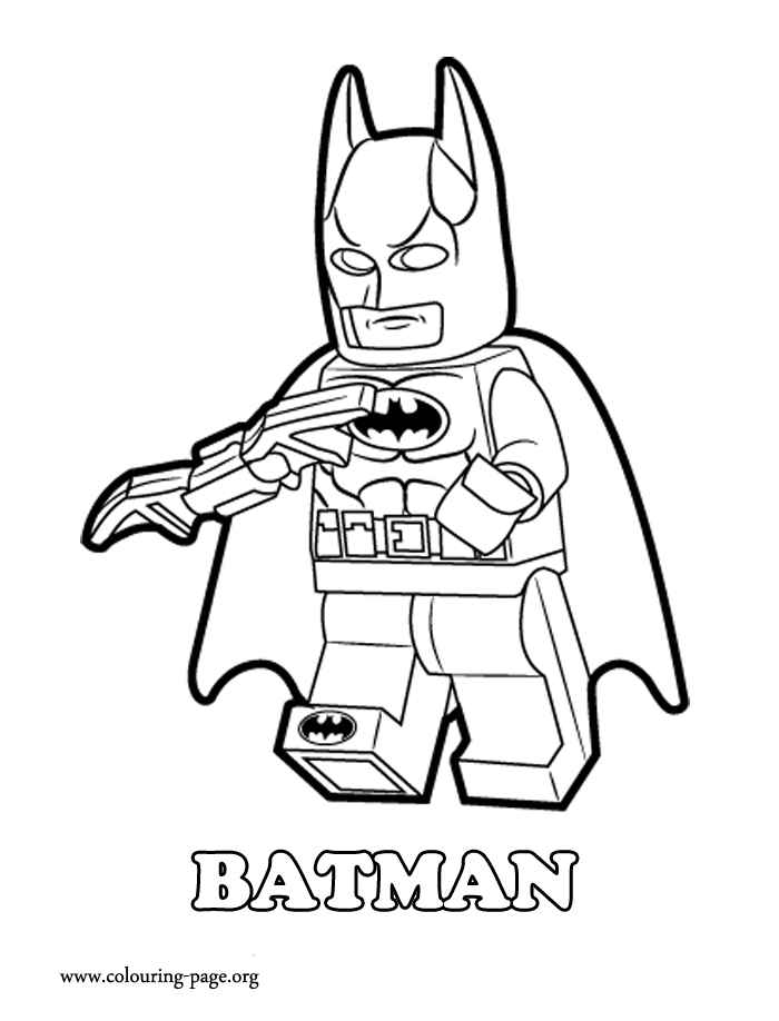 Lego Dc Superheroes Coloring Pages - Coloring Home
