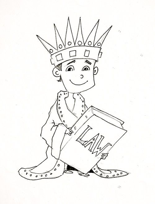 Josiah Scroll Coloring Page