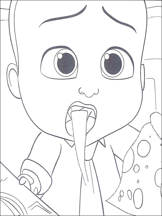 Boss Baby Coloring Pages 13 | Coloring Pages For Kids | Pinterest ...