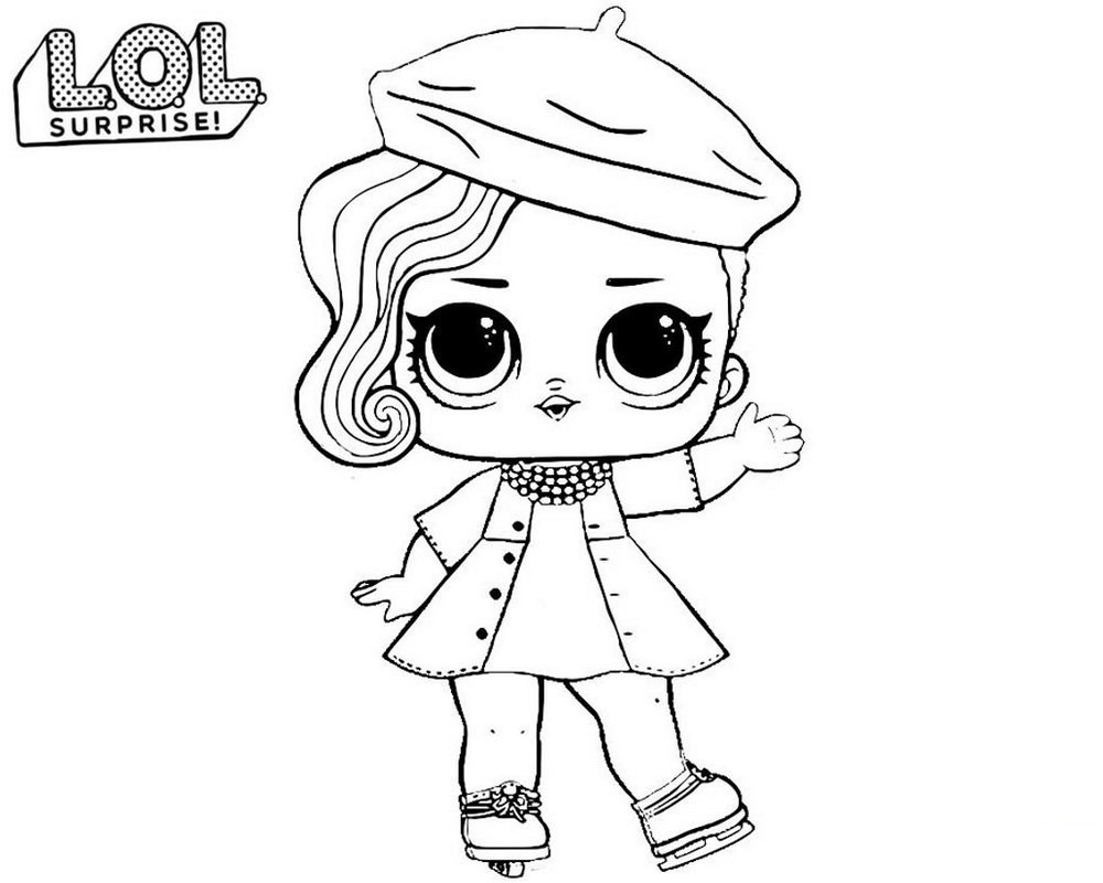LOL Doll Coloring Pages   Printable Shelter   Coloring Home