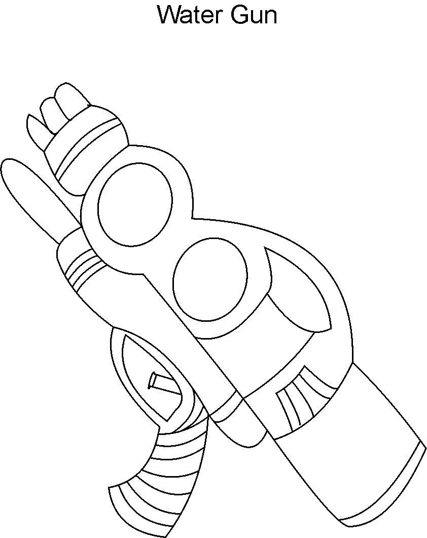 nerf gun coloring pages eassumecom - Nerf Gun Coloring Pages Printable