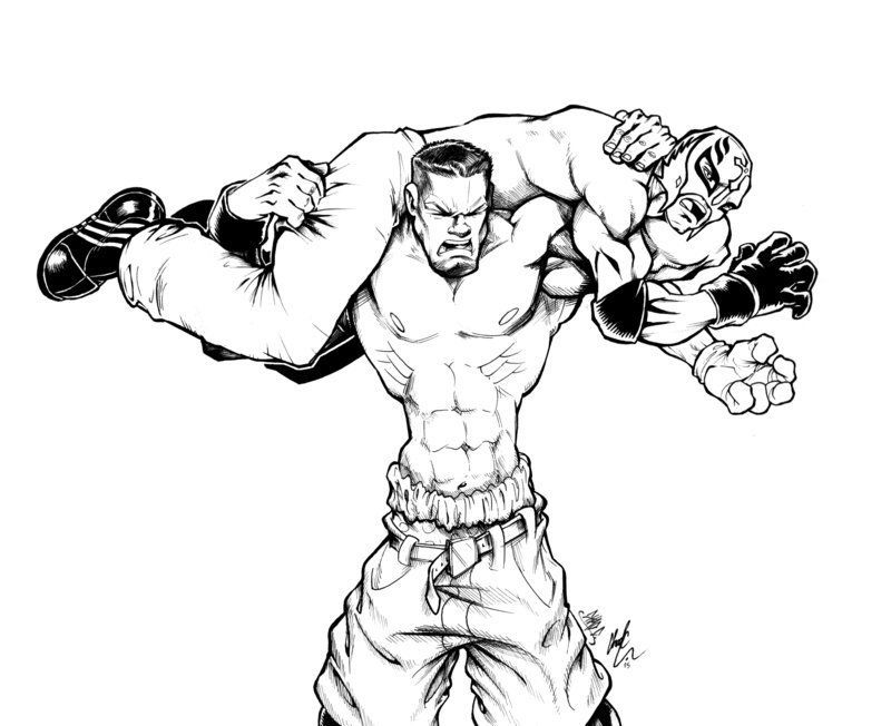 - Wwe Wrestlers Coloring Pages - Coloring Home