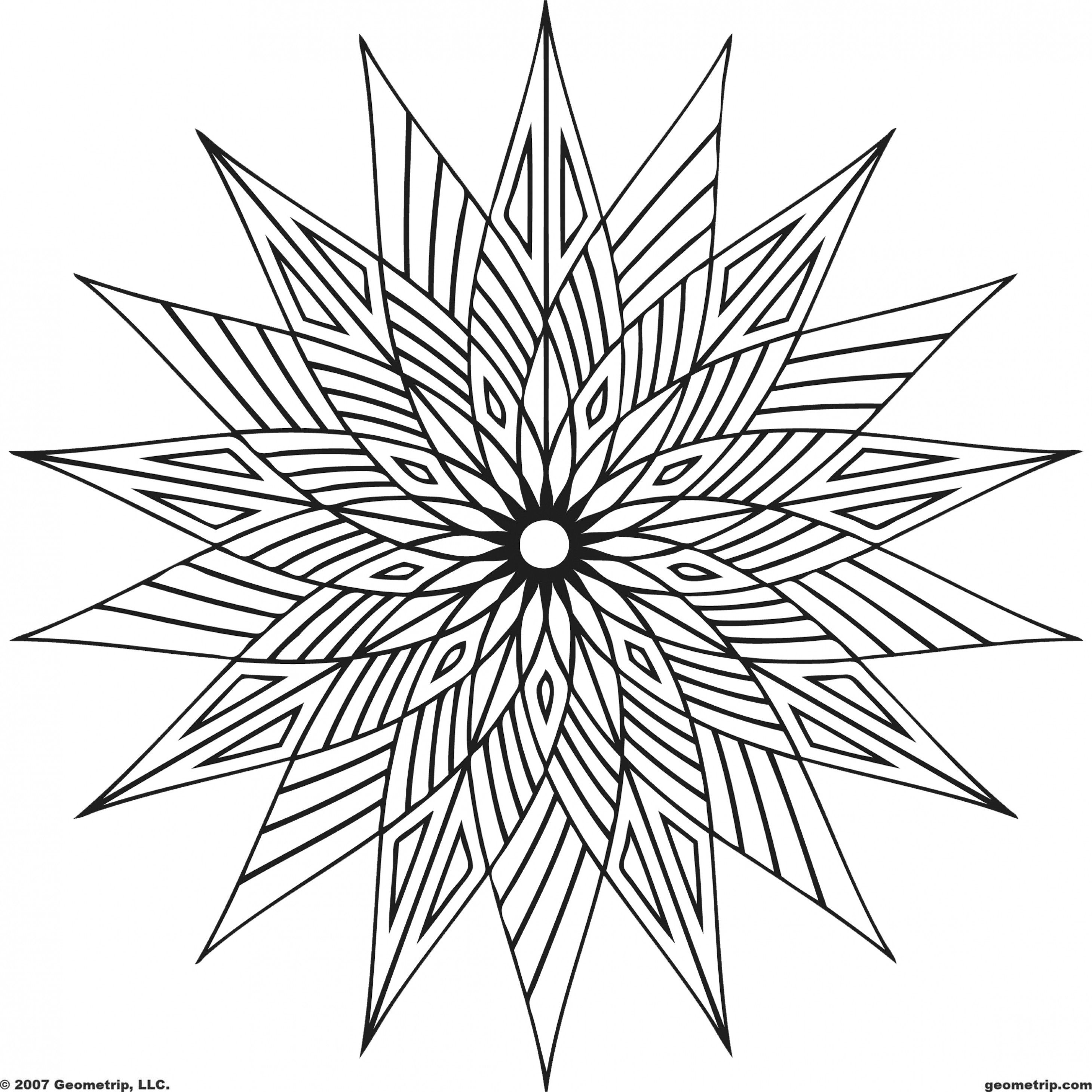 coloring pages abstract designs easy