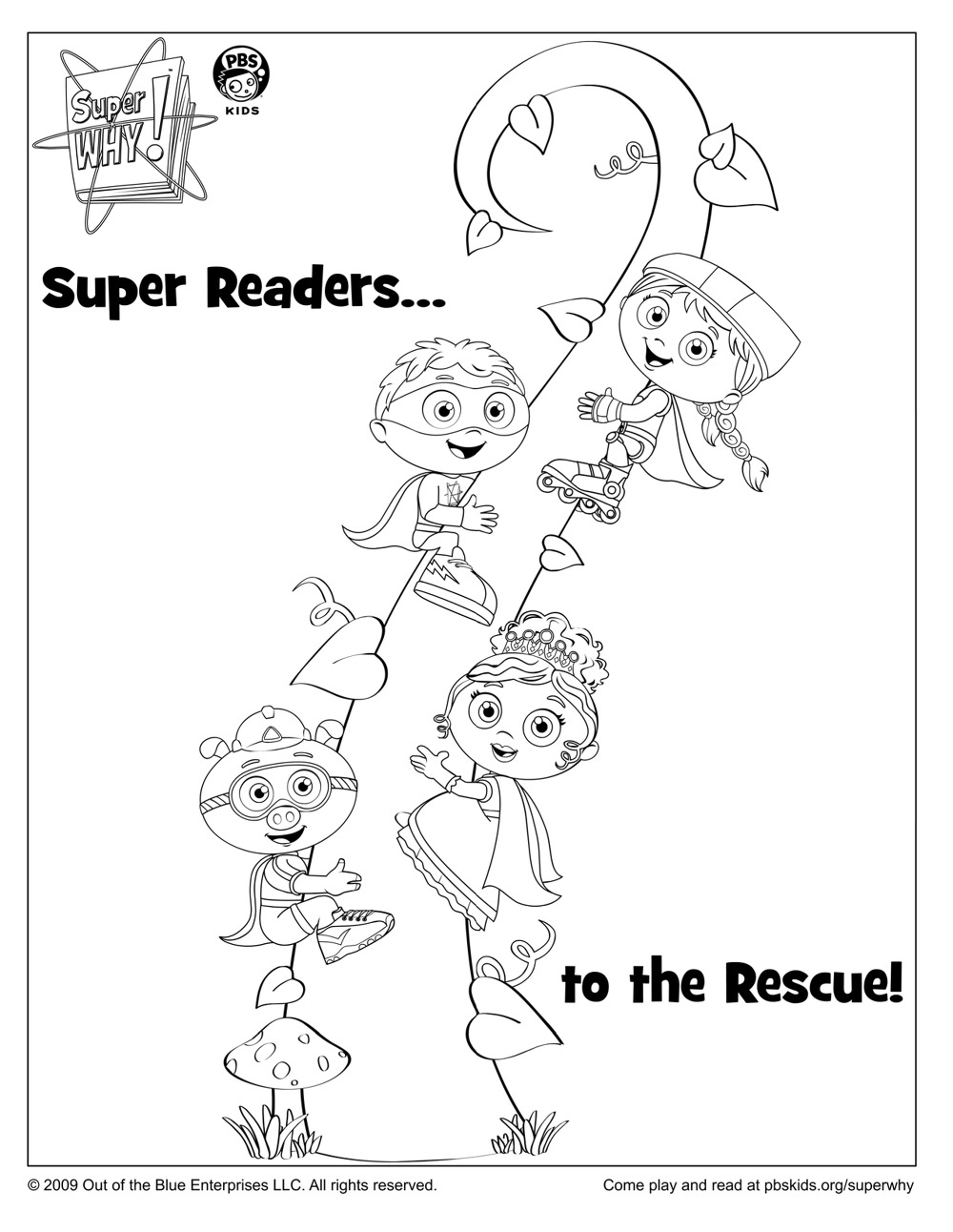 super why coloring pages coloring home