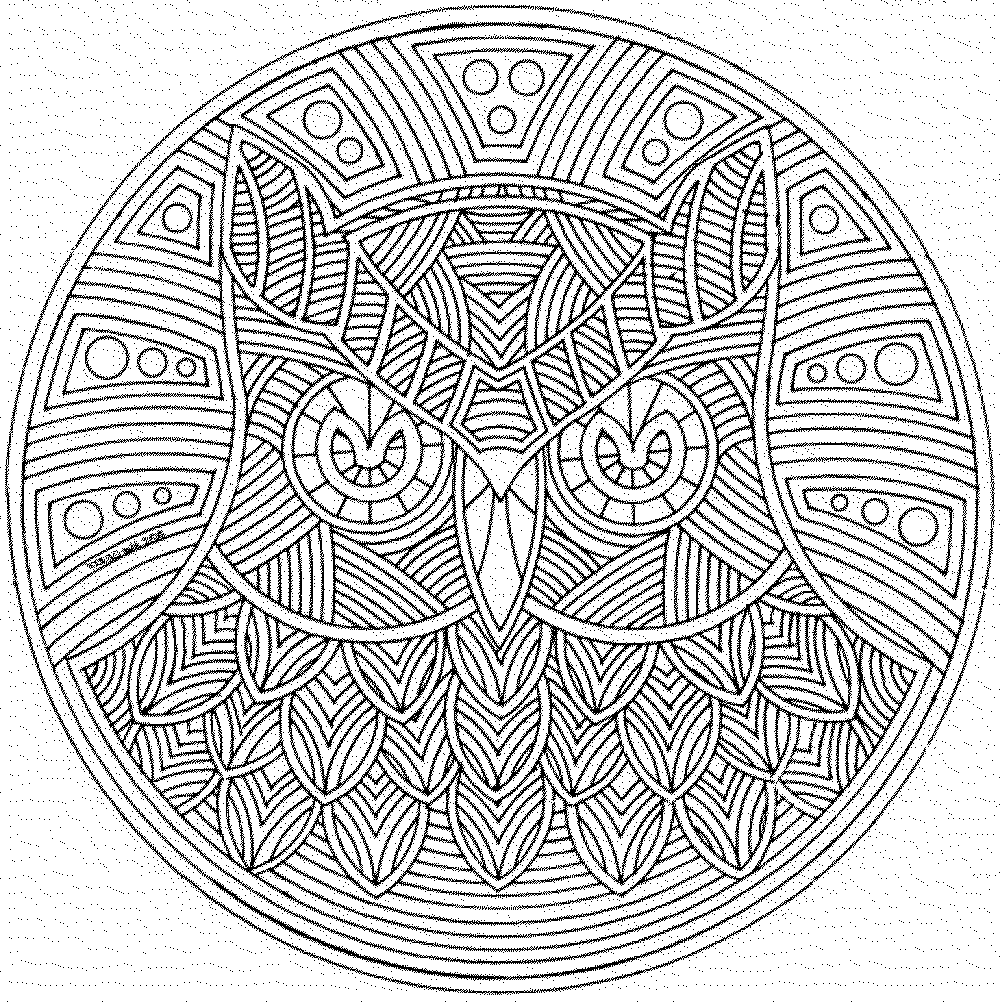 coloring pages for adults geometric - photo#14