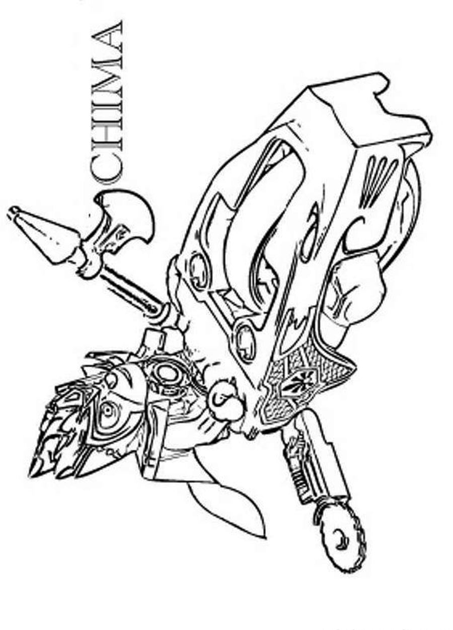 Lego Chima Coloring Pages Coloring