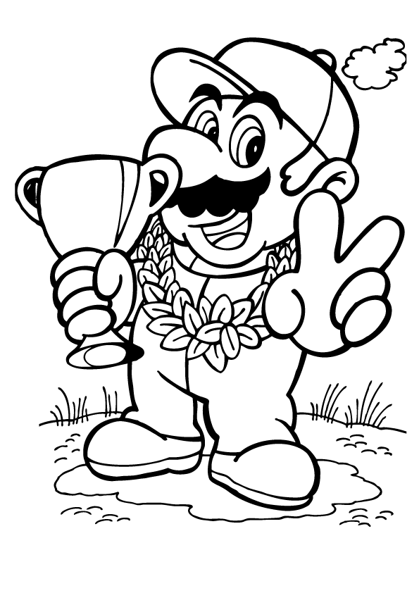 Donkey kong coloring pages to print coloring home for Donkey coloring pages free