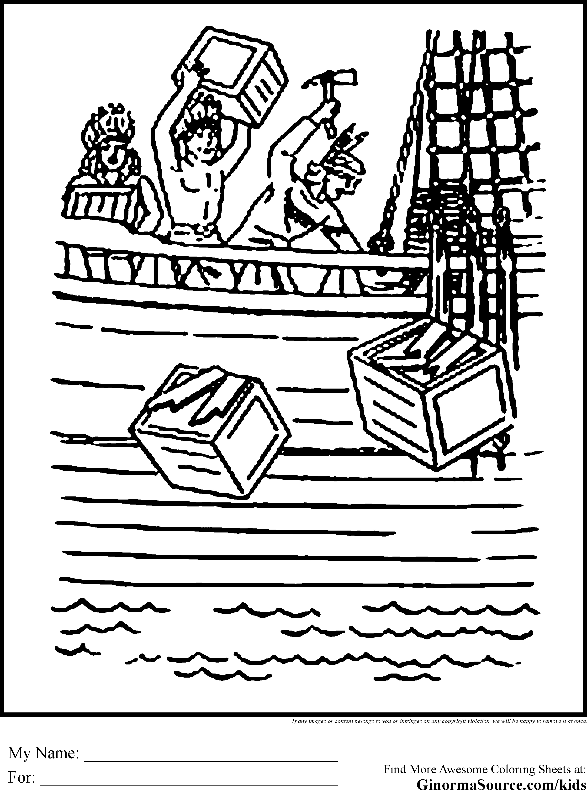 Free Coloring Pages Boston Tea Party