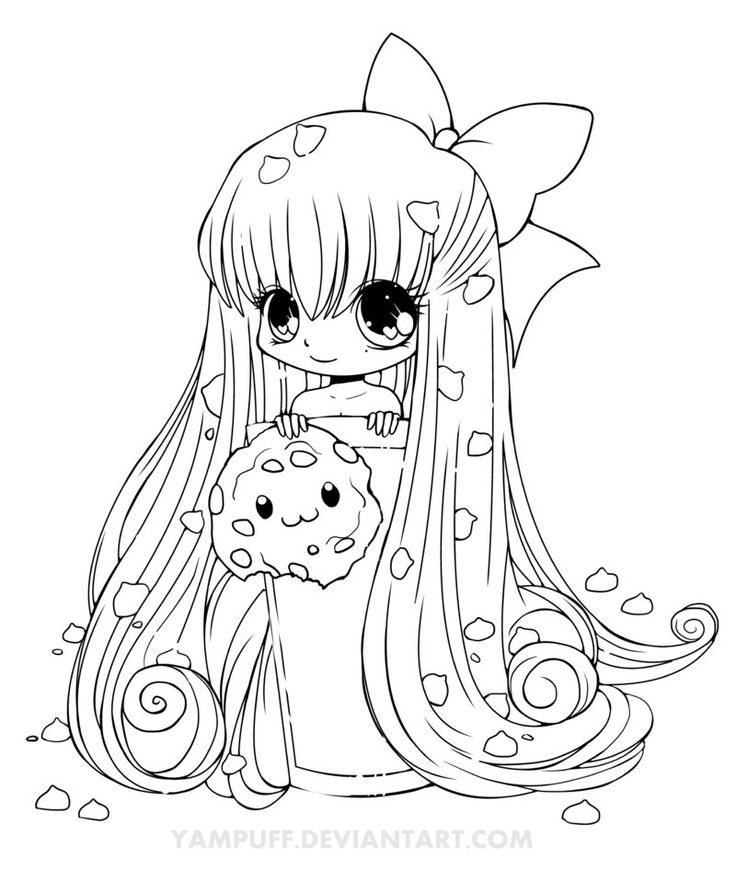 Chibi Anime Characters Coloring Pages   Ð¡oloring Pages For All Ages