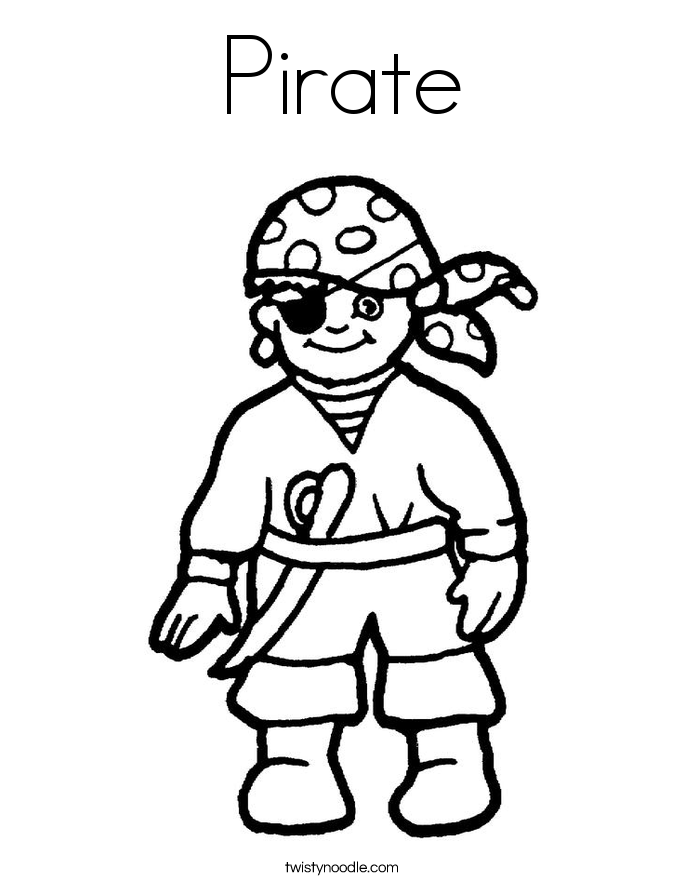 downloadable pirate coloring pages - photo#36