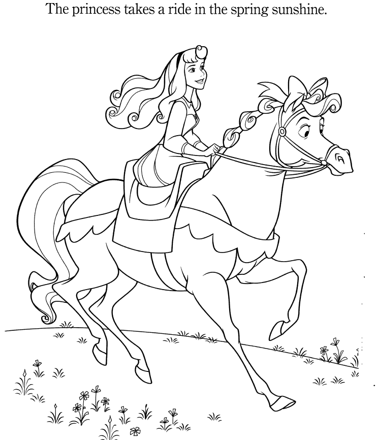 free printable aurora coloring pages - photo#44