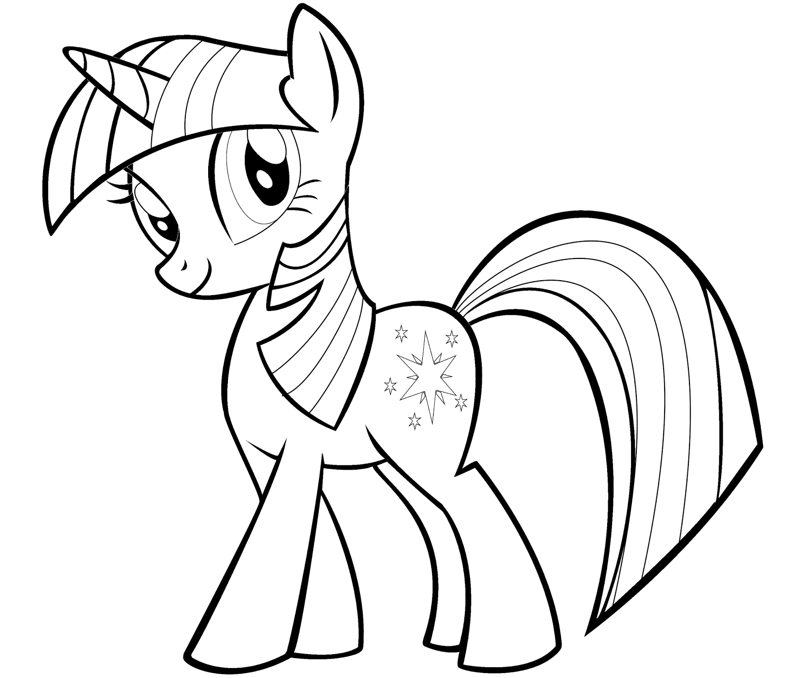 My Little Pony Coloring Pages Christmas Coloring Kids Coloring