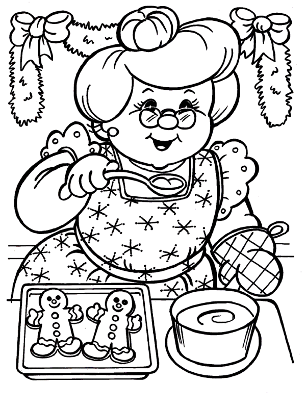 unusual gingerbread house coloring pages - photo#32