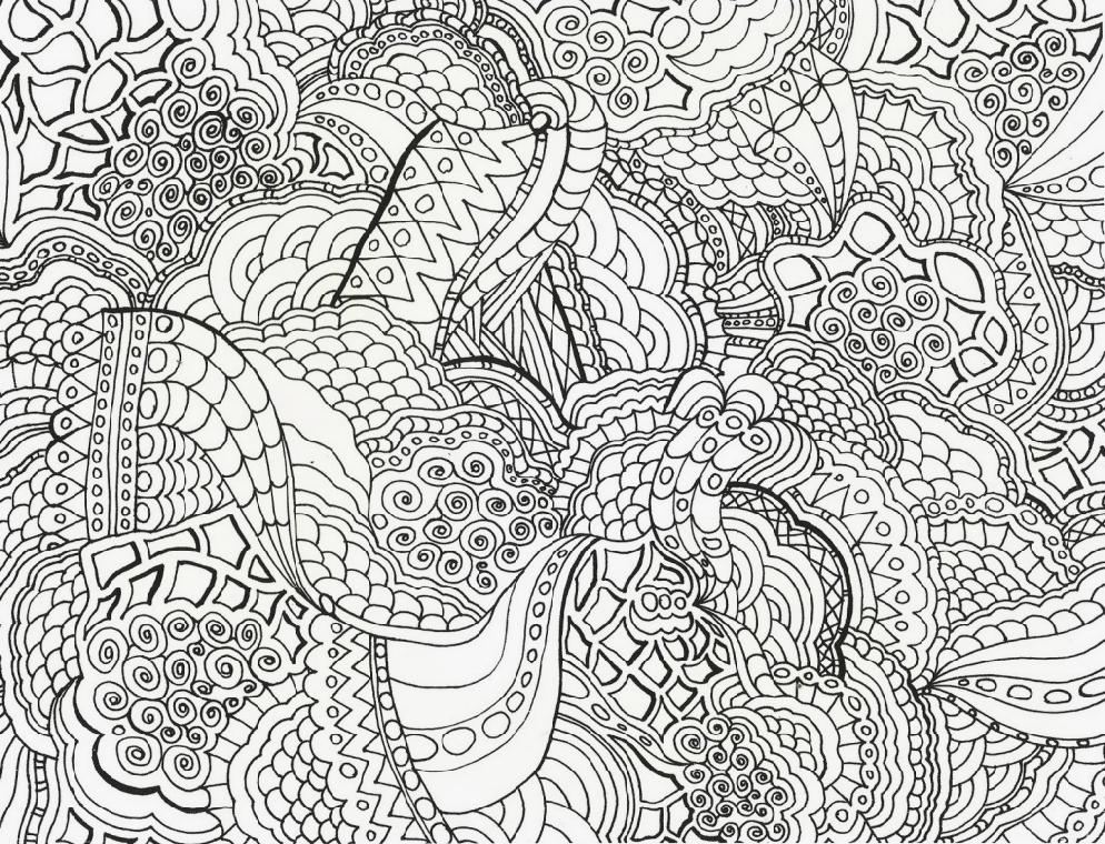 Coloring Page For Teens - Coloring Home