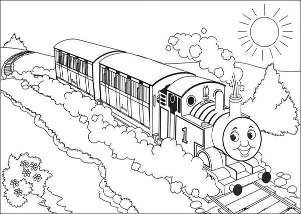 13 Printable Thomas The Train Coloring Pages   Print Color ...