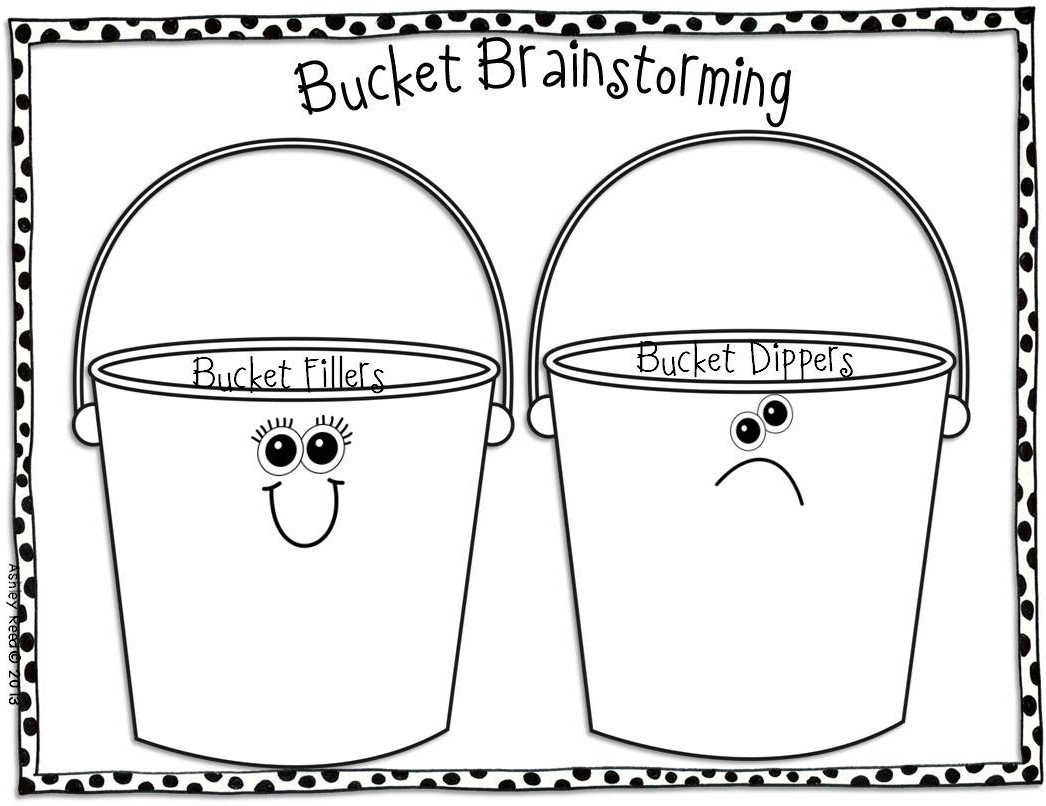 have you filled a bucket today coloring pages | just b.CAUSE
