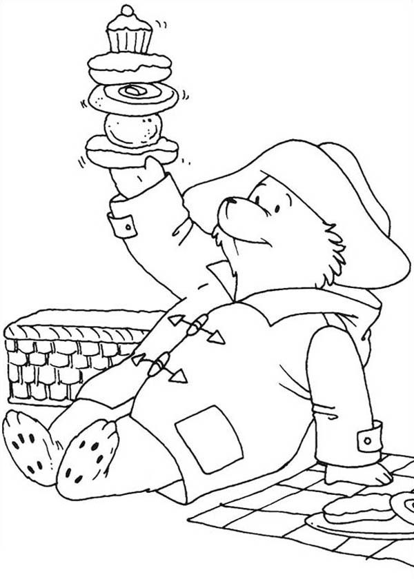 paddington bear coloring pages - paddington bear coloring pages coloring home