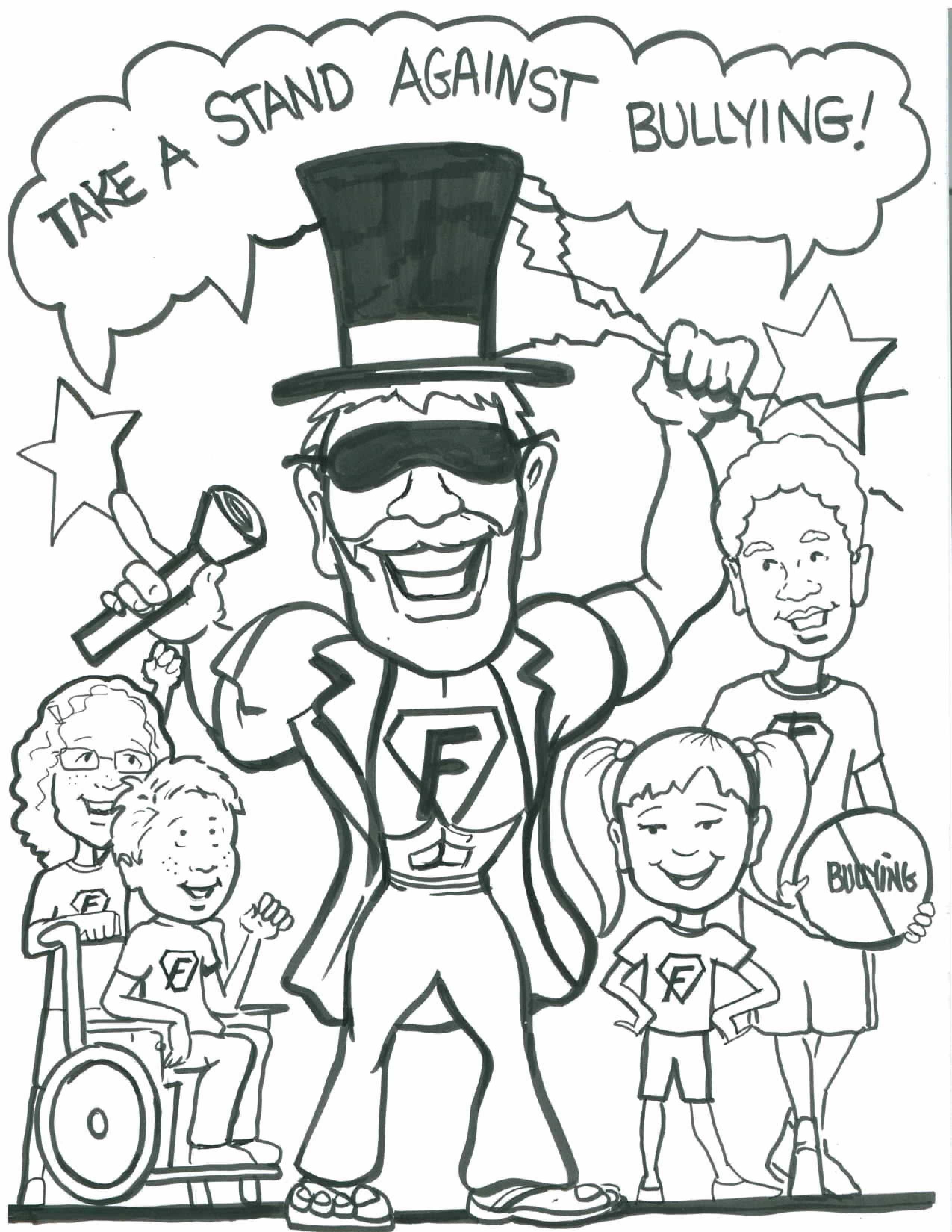 bullying coloring pages - coloring home - Bullying Coloring Pages Printable