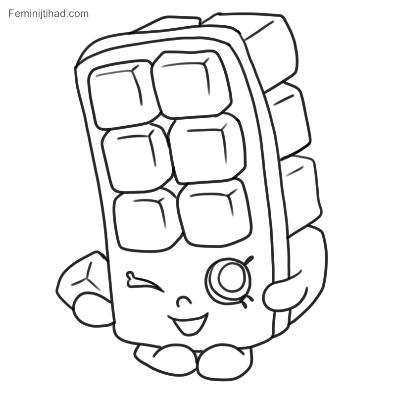 Cube Coloring Pages Coloring Home