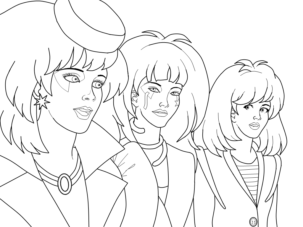 Jem Coloring Pages Www Imgkid Com The Image Kid Has It Jem Coloring Pages