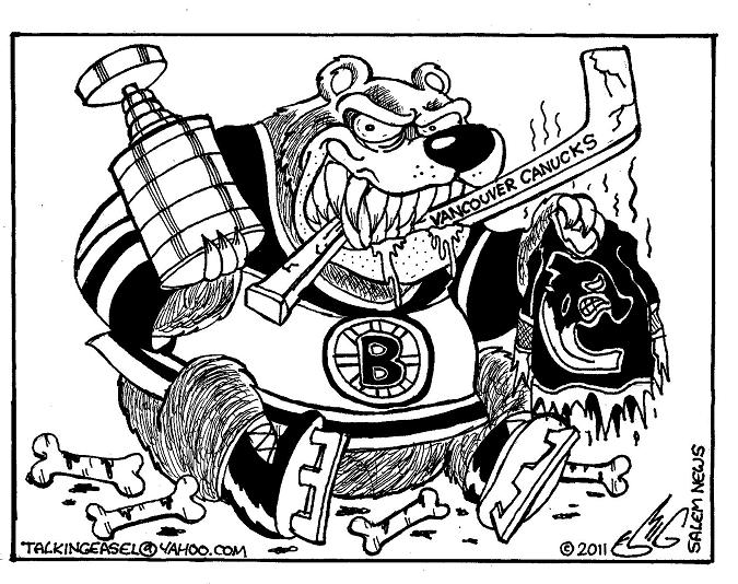 Boston Bruins Logo Coloring Home