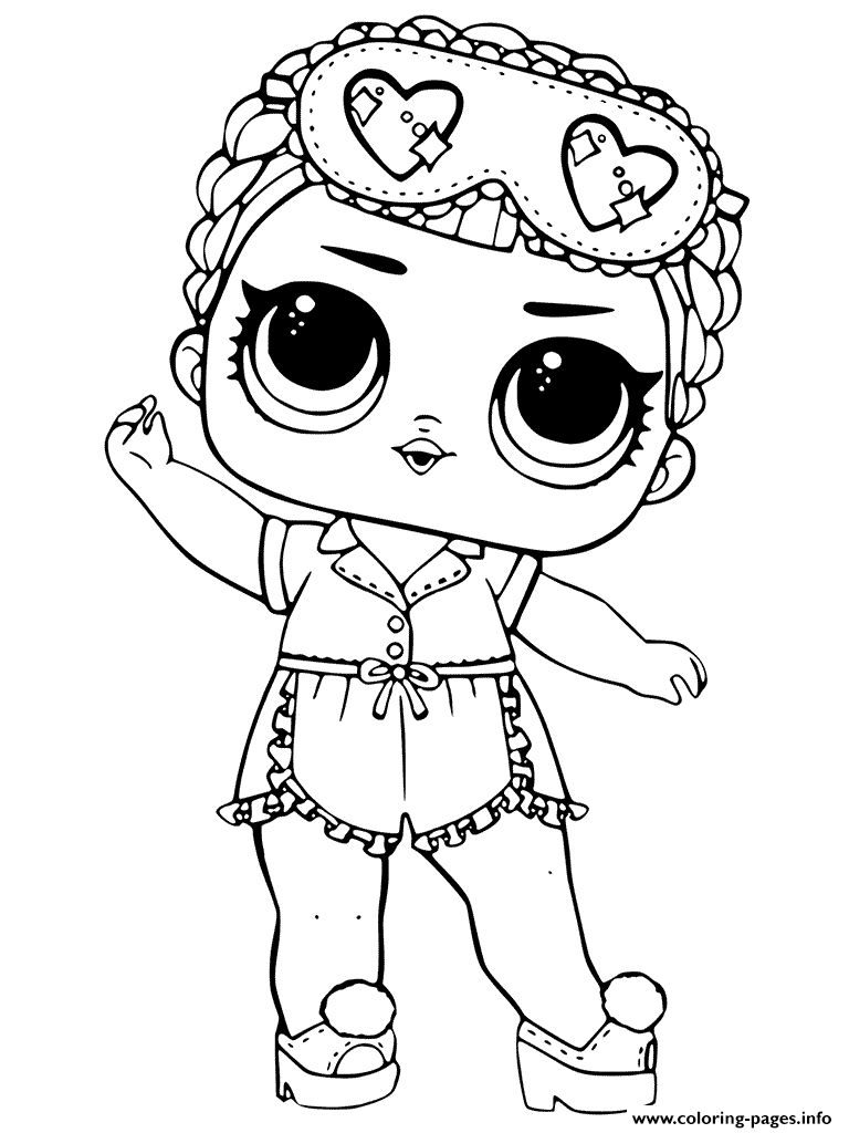 Lol Dolls Coloring Pages Coloring Home
