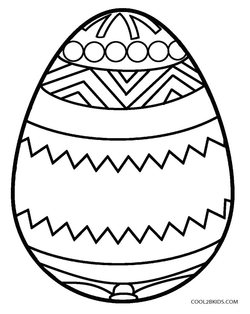 Egg Coloring Page - Coloring Home | 1068x850
