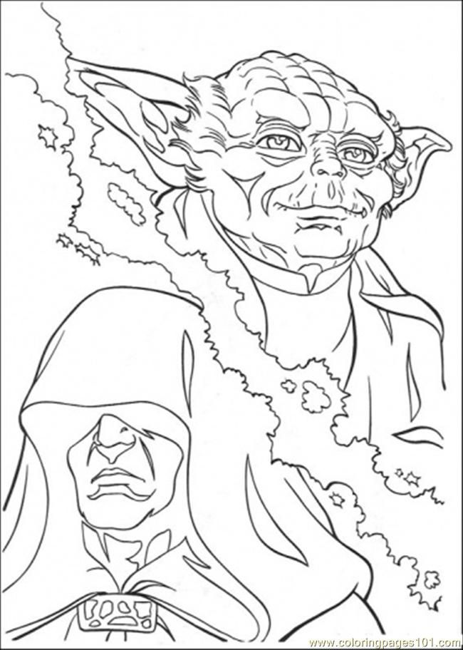 12 pics of star wars yoda coloring pages printable star wars - Yoda Coloring Pages