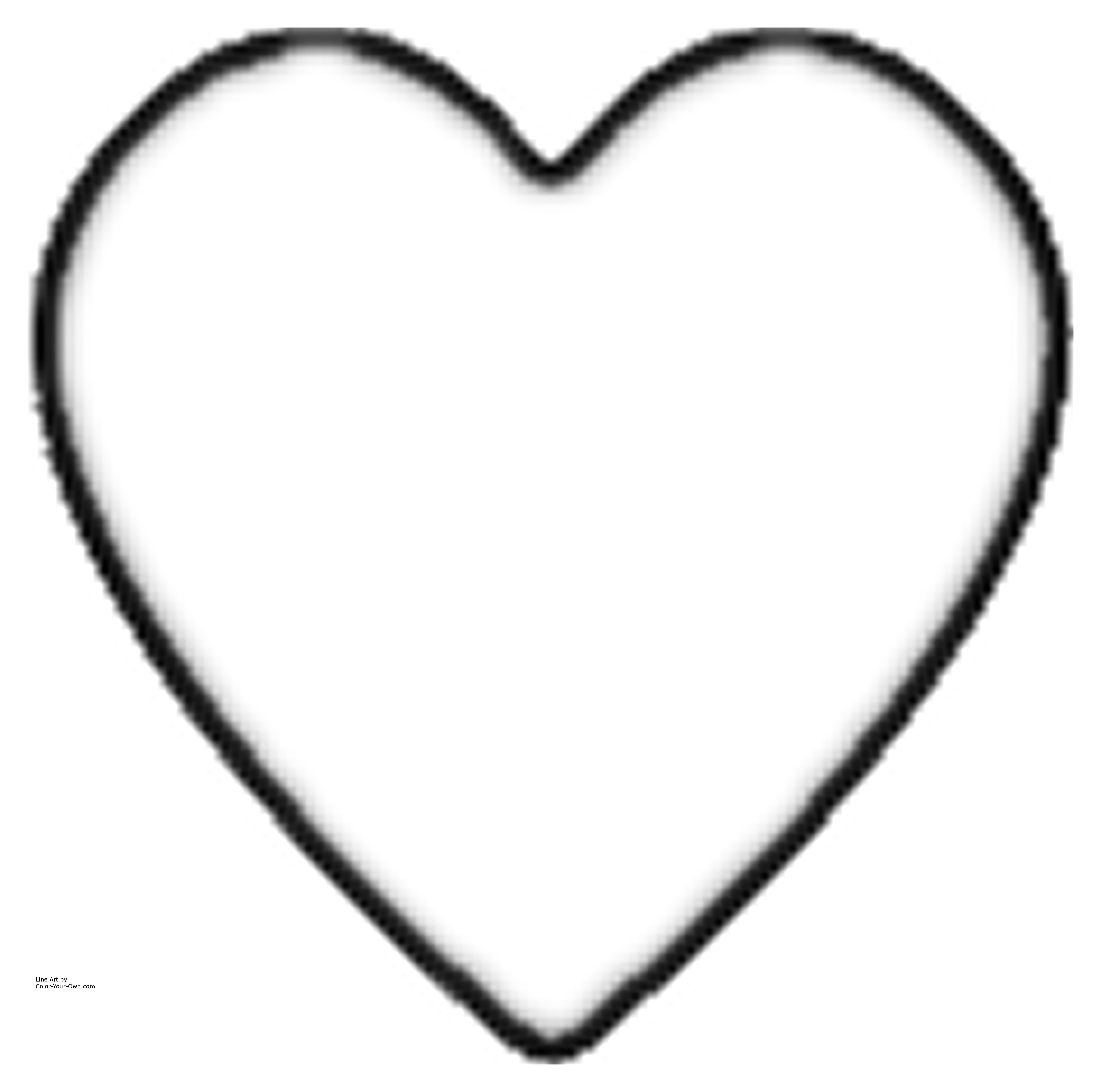 Hearts And Roses Coloring Pages Printable Heart Coloring